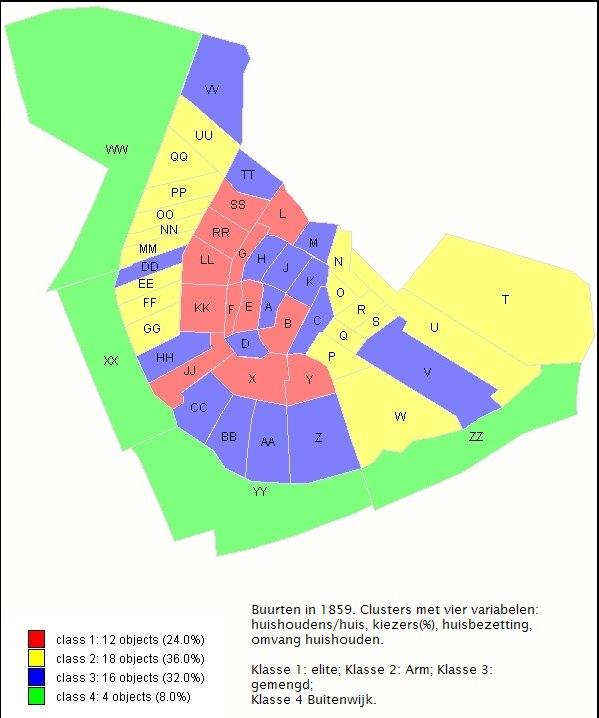 clusters van buurten in 1859